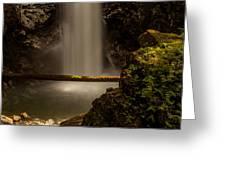 Cascade Falls 8 Greeting Card