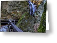 Cascade Falls Greeting Card