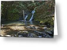 Cascade Falls Greeting Card