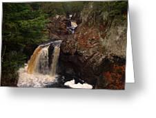Cascade River Greeting Card