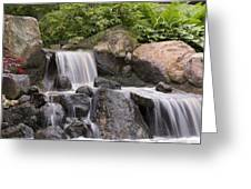 Cascade Waterfall Greeting Card