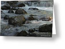Cascades Greeting Card by Heike Ward