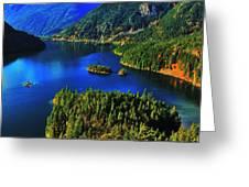 Cascades Lake Greeting Card