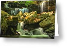 Cascading Everywhere Greeting Card