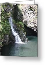 Cascading Waterfalls Greeting Card