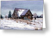 Cache Valley Barn Greeting Card