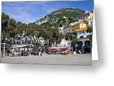 Casemates Square In Gibraltar Greeting Card