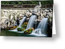 Caserta Palace Fountain 1 Greeting Card