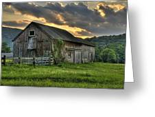 Casey's Barn Greeting Card