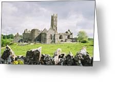 Cashel Abbey Greeting Card