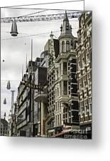 Casino Arcade Damrak Amsterdam Greeting Card
