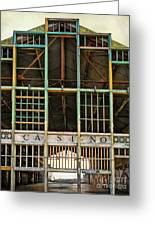 Casino In Multi-color Greeting Card by Colleen Kammerer
