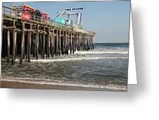 Casino Pier  Seaside  Nj Greeting Card by Neal Appel