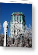 Casino Under Ice Greeting Card
