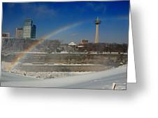 Casinos And Rainbows Greeting Card