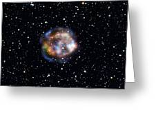 Cassiopeia A, Nustar X-ray Image Greeting Card