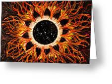 Cassiopeia Iris Constellation Greeting Card