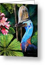 Cassowary- King Of The Rainforest Greeting Card
