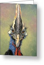 Cassowary Greeting Card