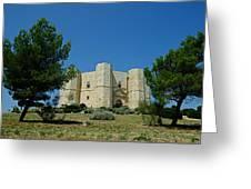 Castel Del Monte Greeting Card