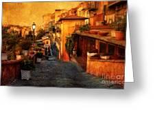 Castel Gandolfo Italy Greeting Card
