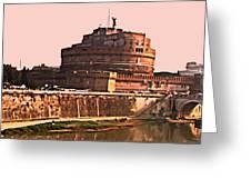 Castel Sant 'angelo Greeting Card