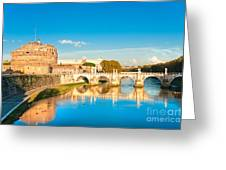 Castel Sant'angelo - Rome Greeting Card