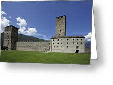 Castelgrande - Bellinzona II Greeting Card