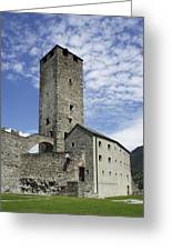 Castelgrande - Bellinzona IIi Greeting Card