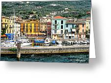Castelleto Harbor.italy Greeting Card