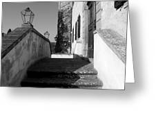 Castello Entrance  Greeting Card