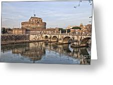 Castello San Angelo Greeting Card