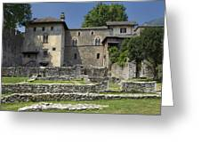Castello Visconteo Greeting Card