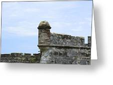 Castillo De San Marcos Greeting Card