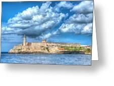 Castillo Del Morro Greeting Card