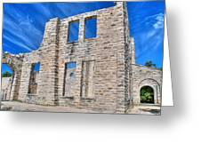 Castle And Sky Greeting Card