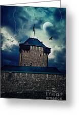 Castle Burg Greeting Card