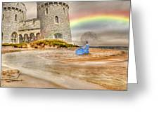 Castle By The Sea Greeting Card
