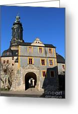 Castle Church Weimar Greeting Card
