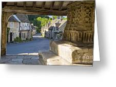 Castle Combe - View Greeting Card