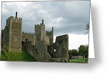 Castle Curtain Wall Greeting Card