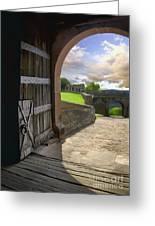 Castle Door Greeting Card