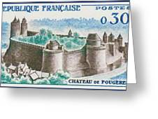 Castle Fougeres Greeting Card