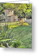 Castle Gate House Greeting Card