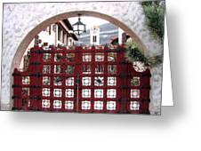 Castle Gate Greeting Card