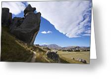 Castle Hill #7 Greeting Card
