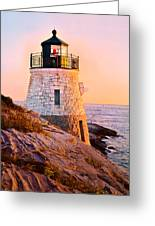 Castle Hill Light 3 Greeting Card