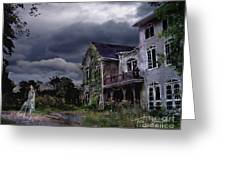 Castle House Greeting Card by Tom Straub