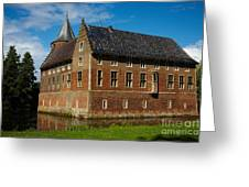 Castle In A Dutch Country Greeting Card
