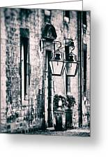 Castle Lamps Greeting Card